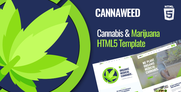 Cannaweed | Marijuana HTML5 Template