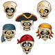 Pirates Skulls - GraphicRiver Item for Sale
