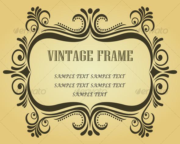 Vintage frame - Decorative Vectors