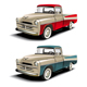 50s styles pickup - GraphicRiver Item for Sale