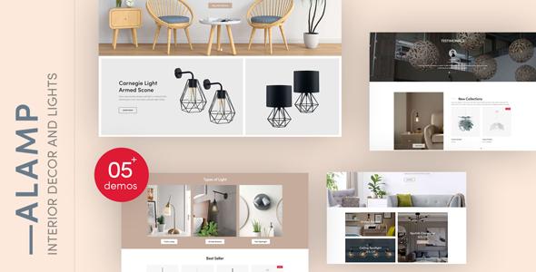 Alamp - Interior Decor and Lights Responsive Shopify Theme