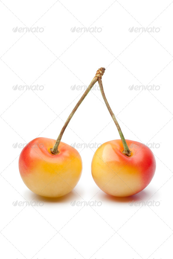 Rainier cherries - Stock Photo - Images