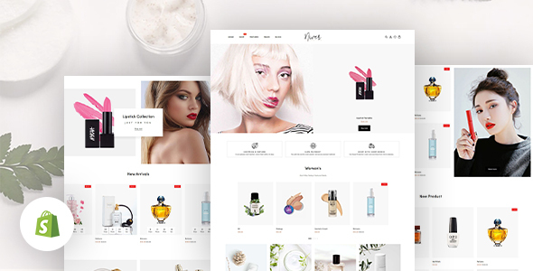 Niver - Beauty & Cosmetics Shop Responsive Shopify Theme