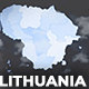 Lithuania Map - Republic of Lithuania Map Kit - VideoHive Item for Sale