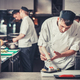 sushi preparing in the restaurant kitchen - PhotoDune Item for Sale