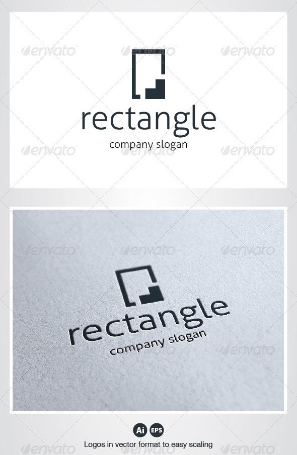Rectangle Logo - Symbols Logo Templates
