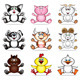 Funny pet animals - GraphicRiver Item for Sale