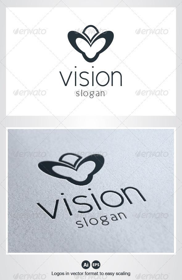 Vision Logo - Symbols Logo Templates