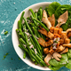 Green Beans with Oyster Mashroom Bowl Dish. Healthy Food - PhotoDune Item for Sale