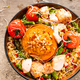 Stuffed Sweet Potato with Couscous and Vegetables in Bowl - PhotoDune Item for Sale