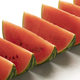 Row of red watermelon wedges - PhotoDune Item for Sale