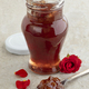 Glass jar with rose petal jam - PhotoDune Item for Sale