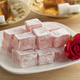 Turkish rose delight and a fresh rose - PhotoDune Item for Sale