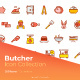 Butcher Icon