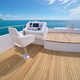 Sea and yacht flybridge open deck, modern and luxury equipped. - PhotoDune Item for Sale