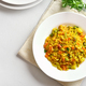 Vegetarian pilaf on plate - PhotoDune Item for Sale
