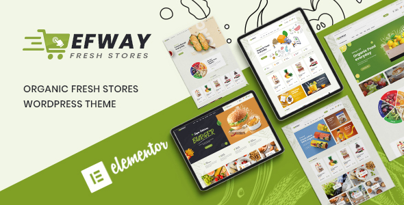 Efway – Food Store WooCommerce WordPress Theme