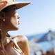 Beautiful woman wearing hat in summer - PhotoDune Item for Sale