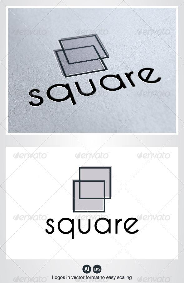 Square Logo - Symbols Logo Templates