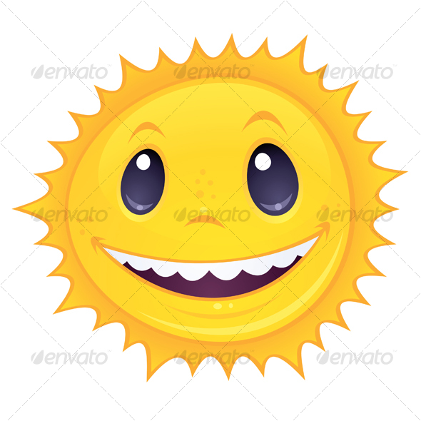 Smiley Sun - Seasons Nature