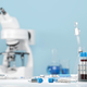 Testing for coronavirus Covid-19 in a lab. Covid medical screening - PhotoDune Item for Sale