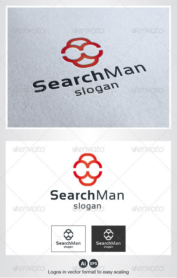 Search Man Logo - Humans Logo Templates
