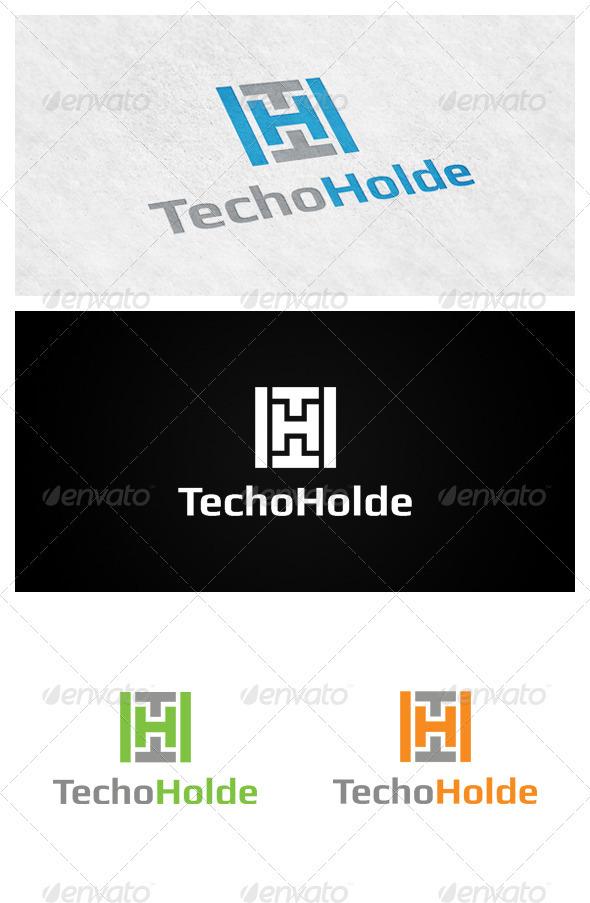 Tehnoholde - Letters Logo Templates
