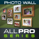 Photo Wall Mockup - GraphicRiver Item for Sale