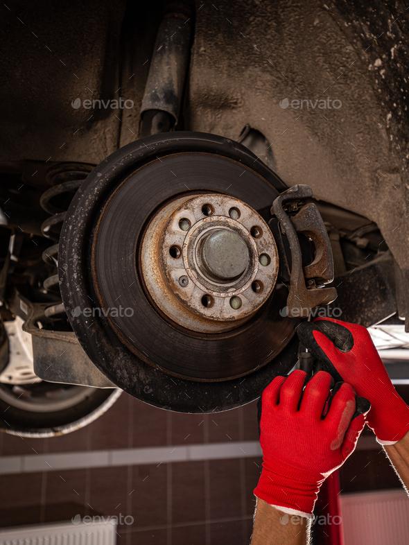 Mechanical change bearing wheel - Stock Photo - Images