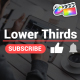 Youtube Lower Thirds | FCPX - VideoHive Item for Sale
