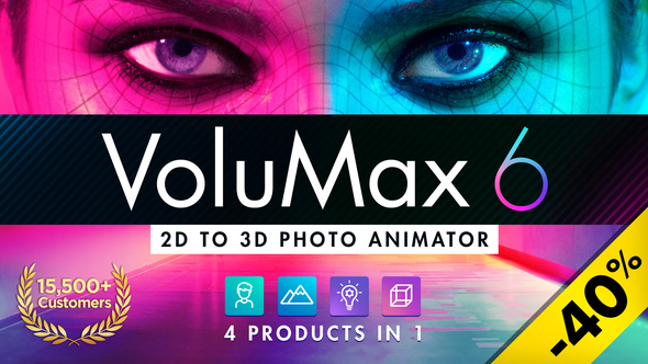 VoluMax - 3D Photo Animator