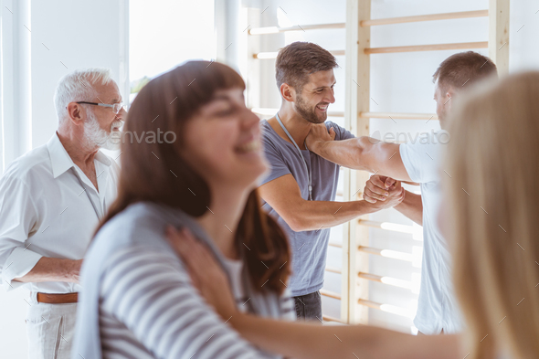 Working in groups - Stock Photo - Images