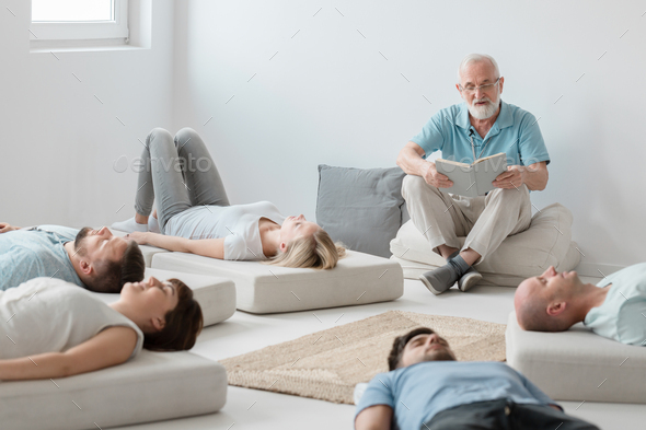 Relaxing on workshops - Stock Photo - Images