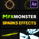 Sparks Effects | After Effects - VideoHive Item for Sale