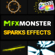 Sparks Effects | FCPX - VideoHive Item for Sale