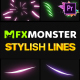 Stylish Lines   Premiere Pro MOGRT - VideoHive Item for Sale