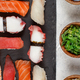 Sushi Set, nigiri on a plate - PhotoDune Item for Sale