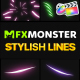Stylish Lines | FCPX - VideoHive Item for Sale