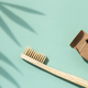 Bamboo Toothbrush with Plant Shadows. - PhotoDune Item for Sale