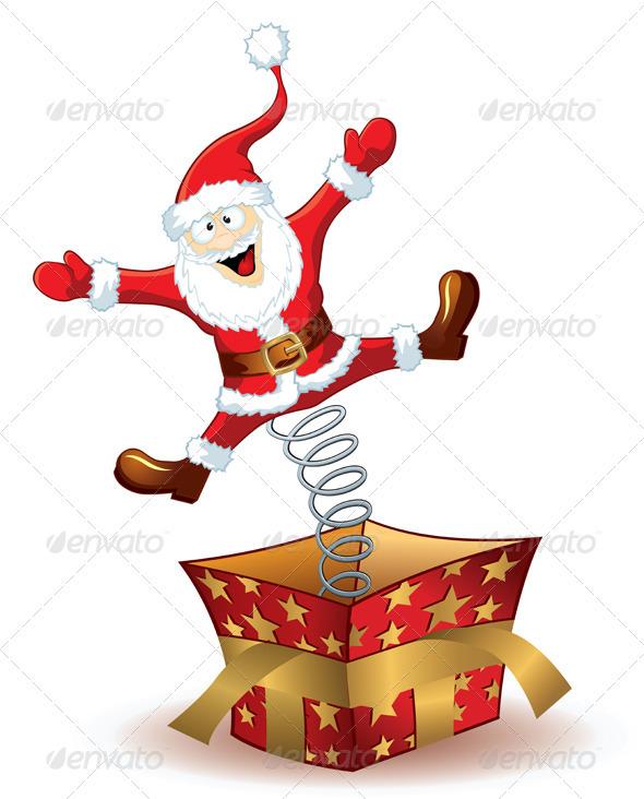 Christmas Santa Claus  - Characters Vectors