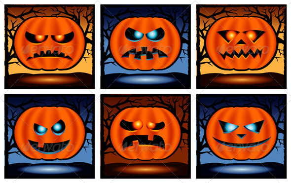 Halloween punpkin  icon  - Halloween Seasons/Holidays