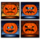 Halloween punpkin  icon  - GraphicRiver Item for Sale