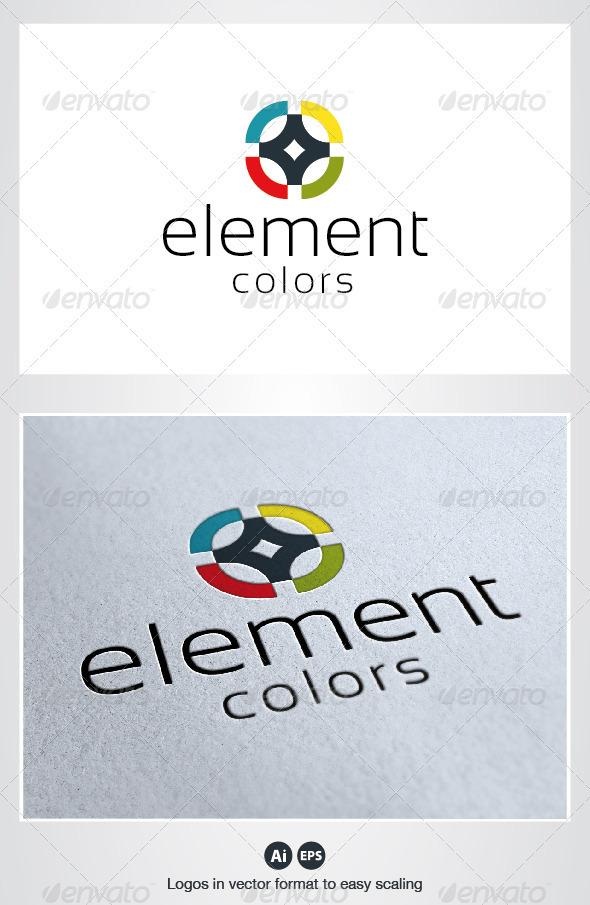 Element Logo - Symbols Logo Templates