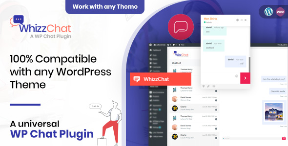 WhizzChat - A Universal WordPress Chat Plugin