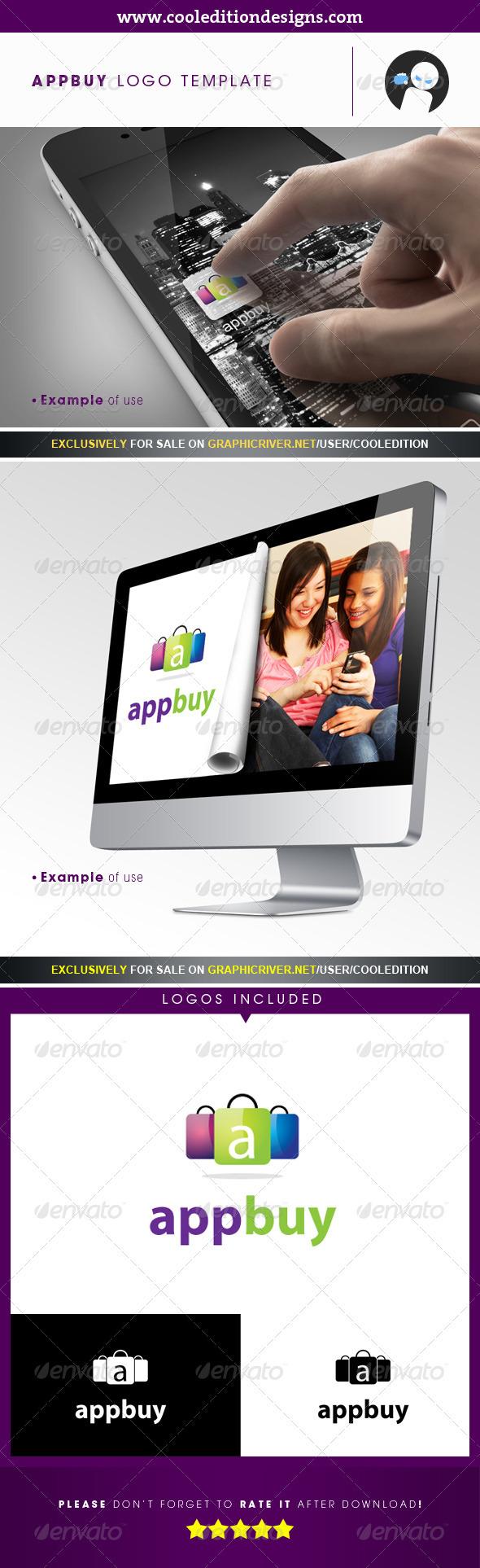 App Buy - Logo Template - Symbols Logo Templates
