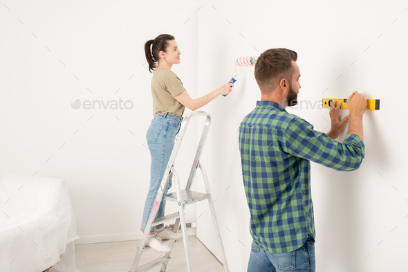 Teamwork in renovation - Stock Photo - Images