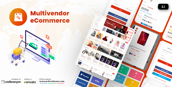 Active eCommerce CMS Nulled
