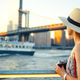 Young photographer at the Manhattan Bridge - PhotoDune Item for Sale