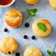 Blueberry muffins with lemon glaze - PhotoDune Item for Sale