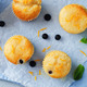 Blueberry muffins with lemon glaze - PhotoDune Item for Sale